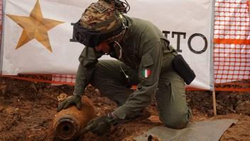 Italia: Bomba de la Segunda Guerra Mundial obliga evacuación en Brindisi