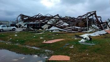 Tornados causaron destrucción en Mississippi