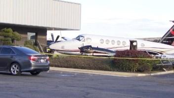 Arrestan a joven que habría robado un avión