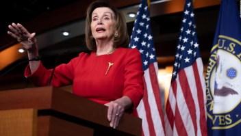 Pelosi retrasa entrega de cargos contra Trump al Senado