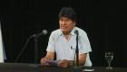Evo Morales afirma que legalmente sigue siendo presidente