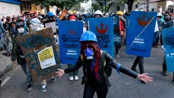 """Ellos son los escudos azules, """"la primera línea de defensa"""""""