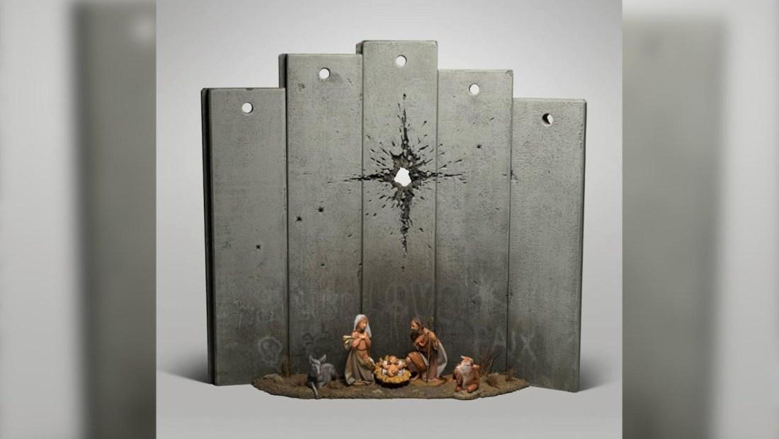 El nacimiento de Jesús, según Banksy