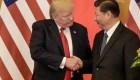 Trump anuncia primer acuerdo comercial con China