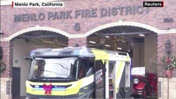 Silicon Valley notendrá su camión de bomberos del futuro