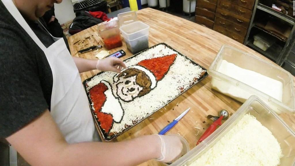 El arte y la cocina se unen en unas pizzas increíbles