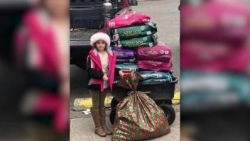 Niña pidió a Papá Noel ayuda para mascotas