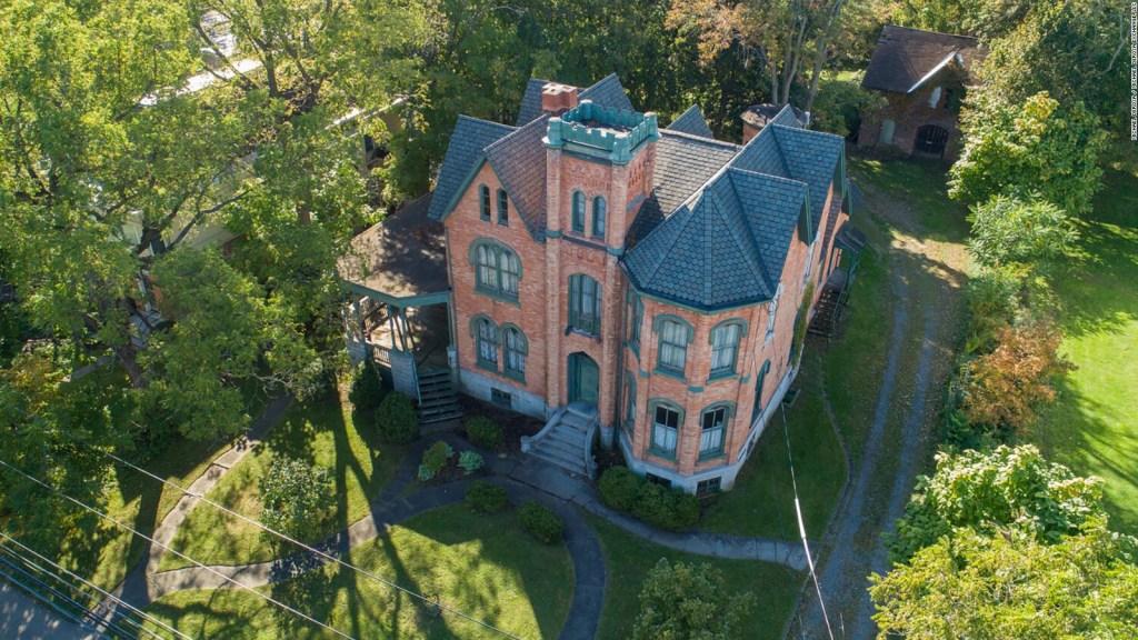 Esta mansión se vendía por solo US$ 50.000