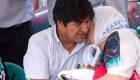 Evo Morales acompañó a las Madres de Plaza de Mayo