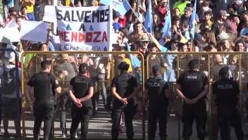 Frenan reglamentación de ley minera en Mendoza tras protestas