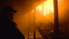 Padre muere intentando salvar a su familia en un incendio
