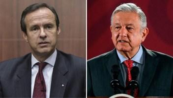 El cruce entre Jorge Quiroga y AMLO