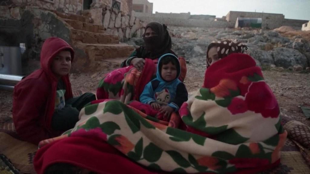 Cómo vive una familia en medio de los bombardeos en Siria