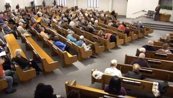 Video muestra el ataque a la iglesia White Settlement
