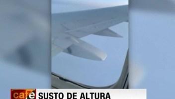 Pánico por falla en avión que se ve obligado a aterrizar