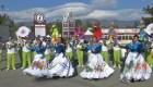 Banda de El Salvador, estrellas del Desfile de las Rosas