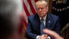 President Donald Trump listens during a roundtable with governors on government regulations in the Cabinet Room of the White House, Monday, Dec. 16, 2019, in Washington. (AP Photo/ Evan Vucci)