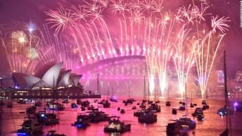 Fuegos artificiales Australia