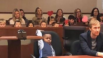 Jardín infantil acompañó a niño de 5 años en audiencia de adopción