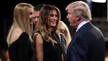 Melania e Ivanka Trump relación