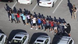 Una imagen de la masacre de Parkland