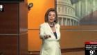 Nancy Pelosi tiene un enfrentamiento con un reportero