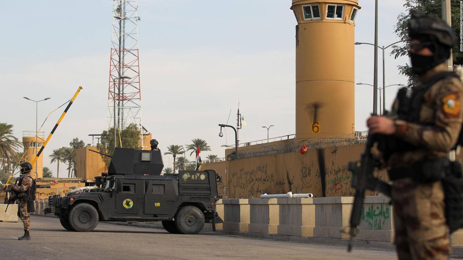 Severos daños a embajada de EE. UU. en Bagdad por milicias proiraníes | Video | CNN