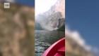 Turista capta en video un derrumbe en el Cañón del Sumidero, en Chiapas