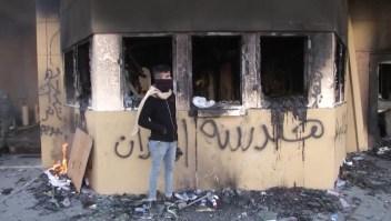Así quedó dañada la embajada de EE.UU. en Bagdad