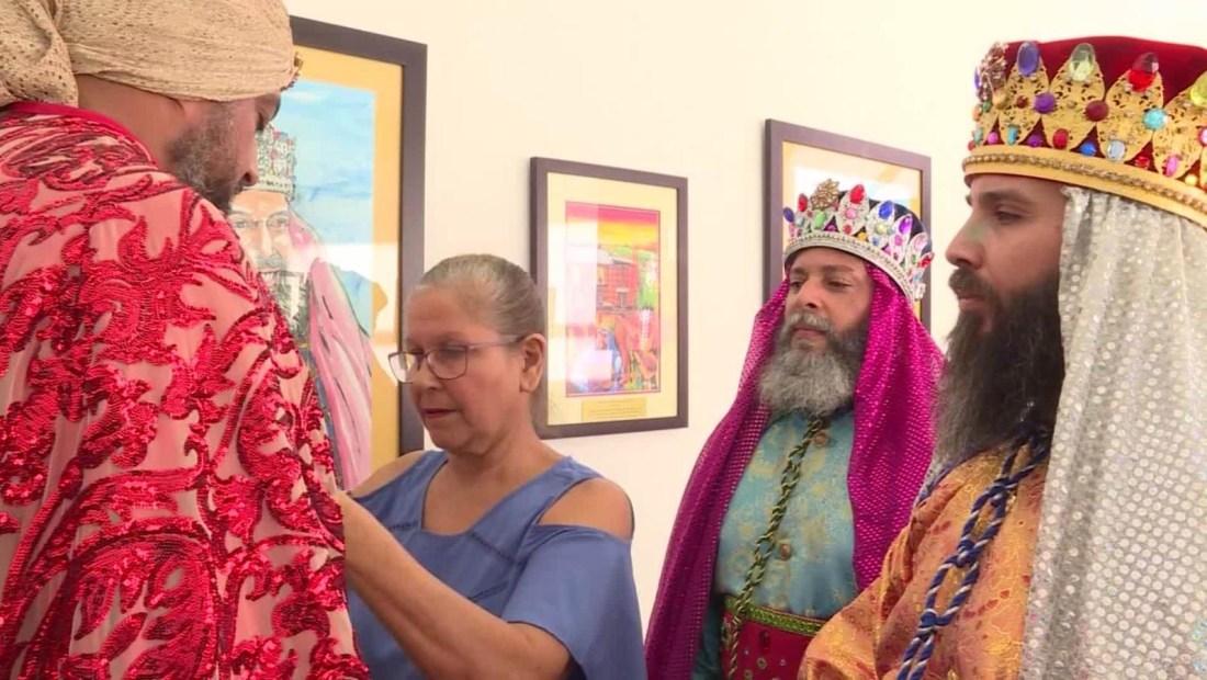 Así se confecciona el vestuario de los Reyes Magos