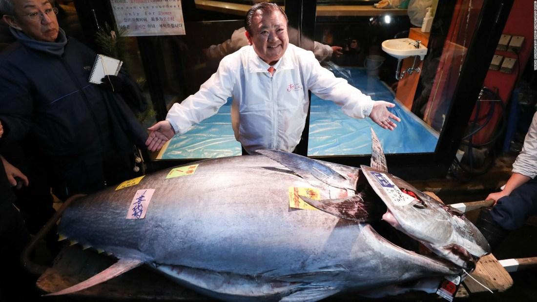 Atún se vende por más de US$1 millón en Tokio