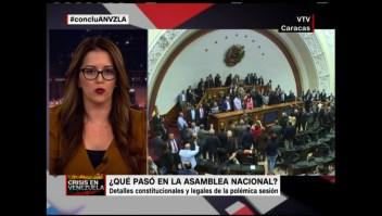 Lo que pasó en la Asamblea Nacional de Venezuela