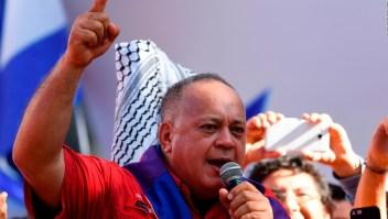Venezuela: Diosdado Cabello, duro con México y Argentina