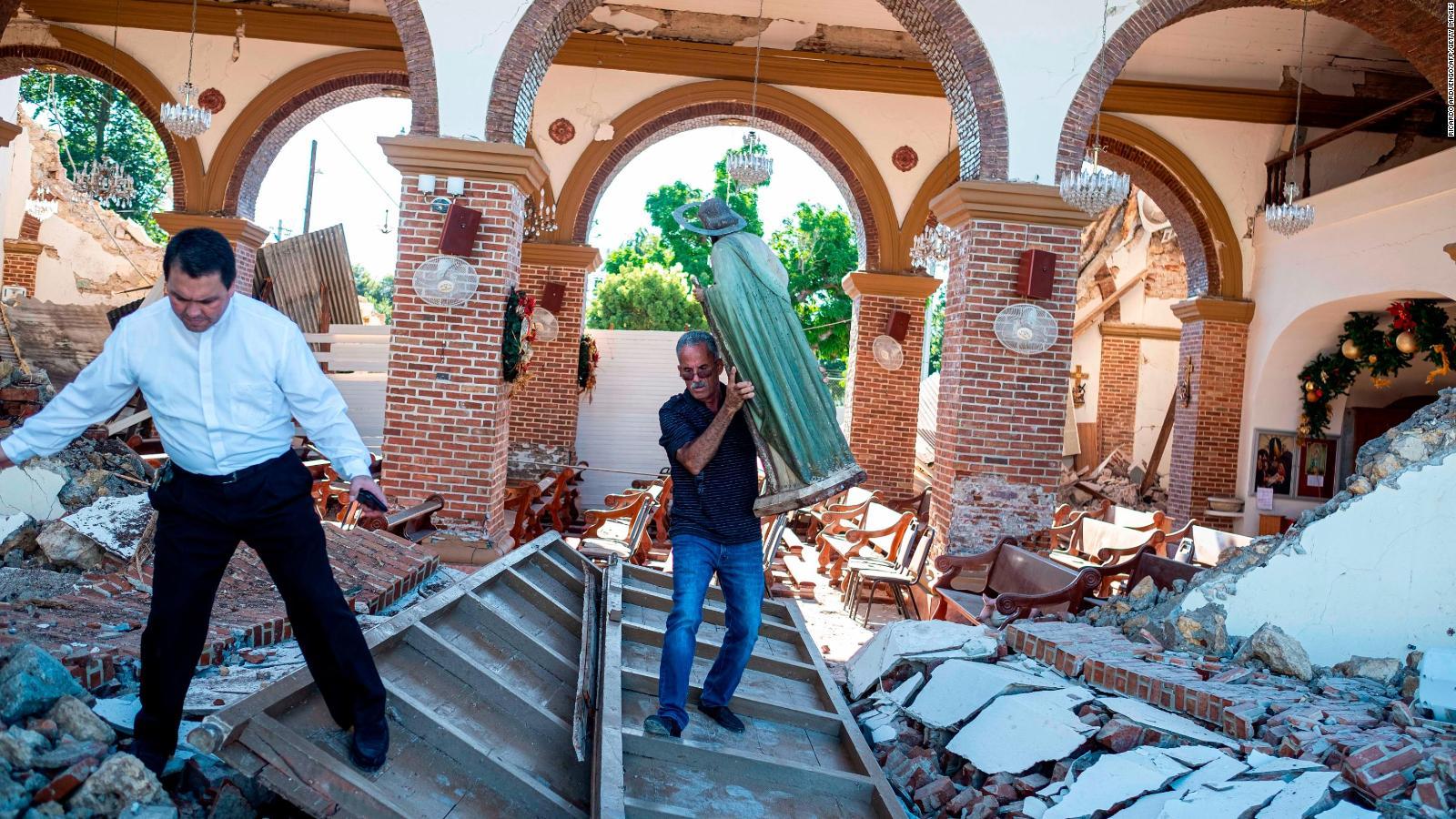 Puerto Rico, en estado de emergencia por temblores