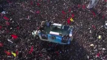 Estampida mortal en el funeral de Qasem Soleimani