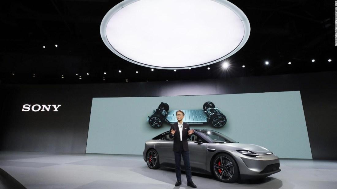 Sony presenta una propuesta de auto eléctrico