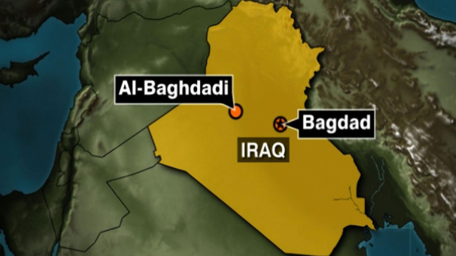 Cohetes caen en base aérea de EE.UU. en Iraq