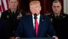 Trump promete más sanciones contra Irán