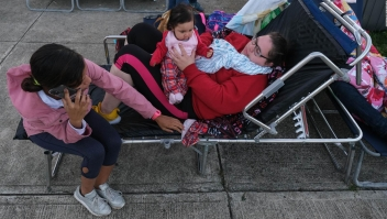 Puerto Rico: viven a la intemperie por temor a temblores