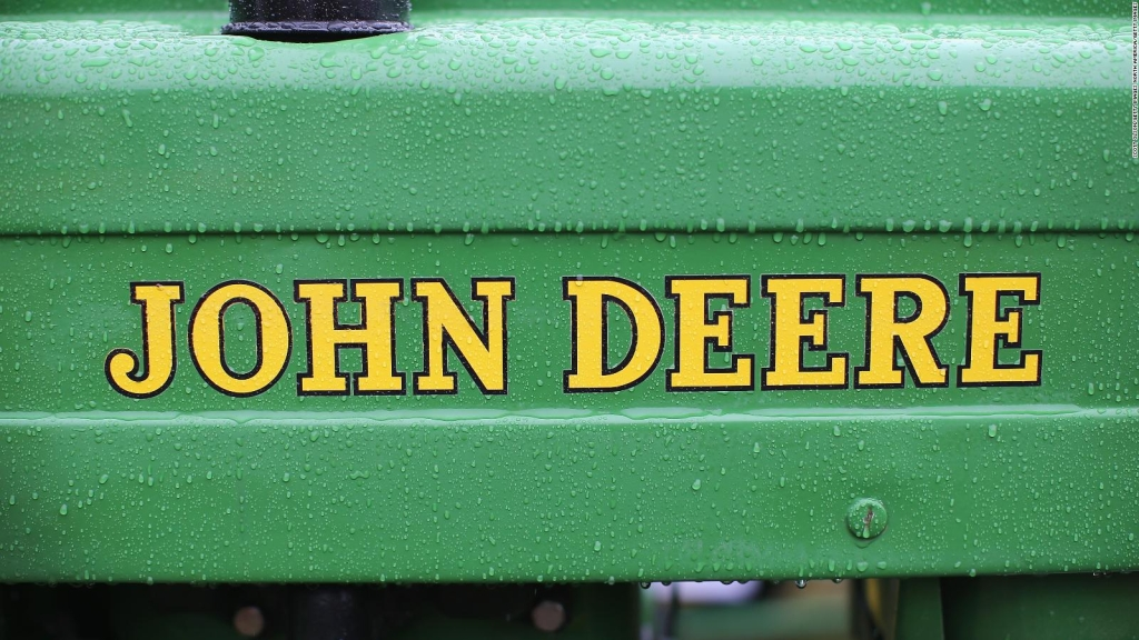 John Deere presentó nuevo tractor autónomo