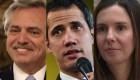 Gobierno de Fernández desconoce a enviada de Guaidó