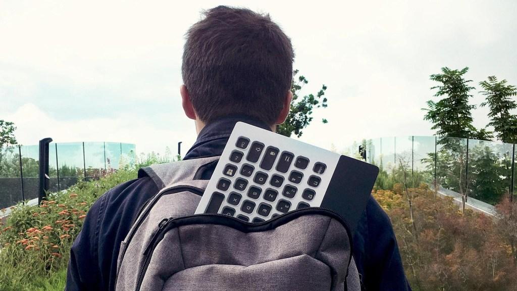 """Nemeio, el teclado portable que es """"políglota"""""""