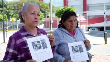 Familiares siguen buscando a los desaparecidos en México
