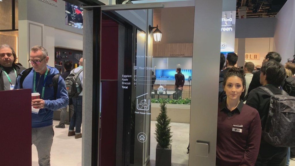 La puerta de LG que mantiene fresca la comida