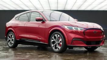 Ford presenta su nuevo Mustang, 100% eléctrico