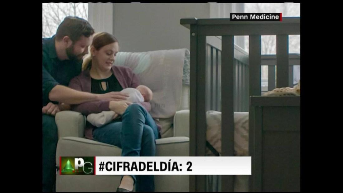 Nace segundo bebe de útero trasplantado