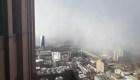 Una gran tormenta de nieve cubre a Filadelfia