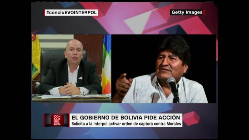 La respuesta de Arturo Murillo a Evo Morales