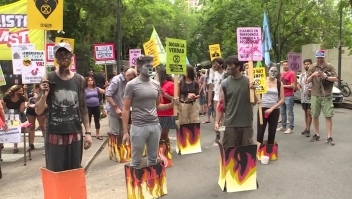 Argentina se une a la marcha por incendios en Australia