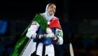 La única medallista olímpica de Irán dice que desertó